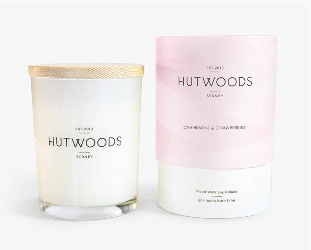 CHAMPAGNE & STRAWBERRIES CANDLE 250g